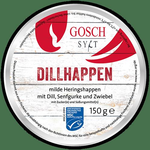 GOSCH Dillhappen – 150 g
