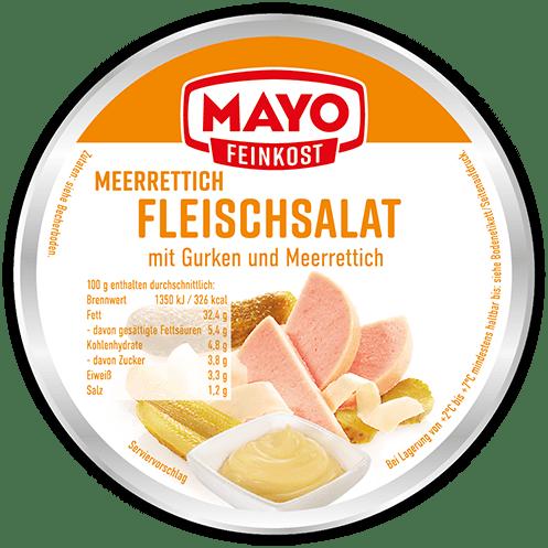 Meerrettich-Fleischsalat  –  200 g
