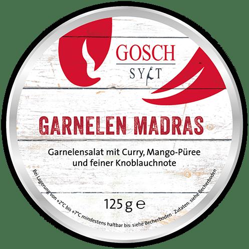 GOSCH Garnelensalat Madras – 125 g
