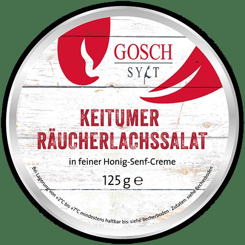GOSCH Keitumer Räucherlachssalat – 125 g