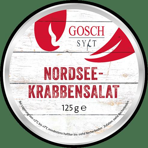 GOSCH Nordseekrabben-Salat – 125 g