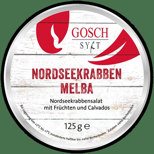 GOSCH Nordseekrabben Melba – 125 g