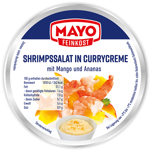Shrimpssalat in Currycreme – 150 g