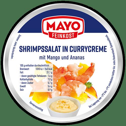 Shrimpssalat in Currycreme – 150 g