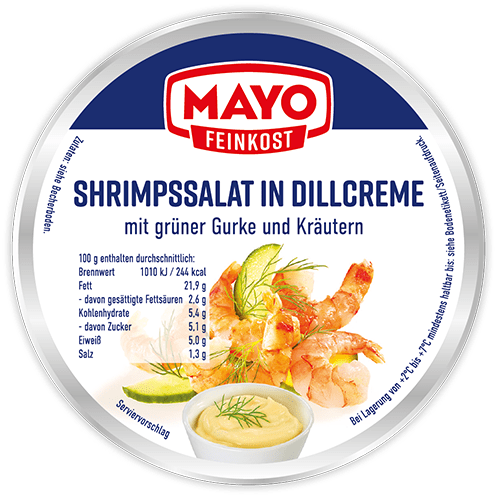 Shrimpssalat in Dillcreme – 150 g