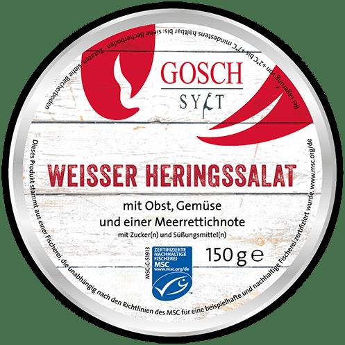 GOSCH Weißer Heringssalat – 150 g