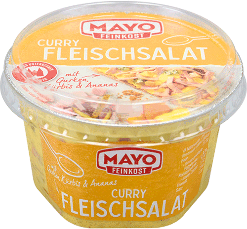 Curry-Fleischsalat – 200 g