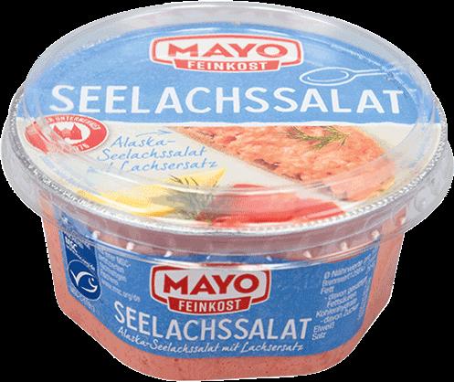 Seelachssalat – 150 g