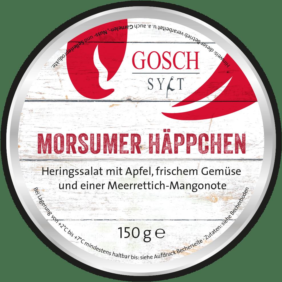 GOSCH Salat | Morsumer Häppchen – 150g